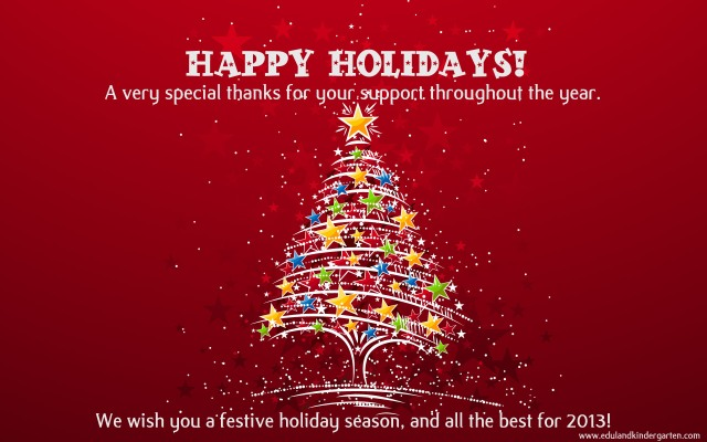 EK- Happy Holidays 2012