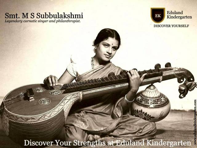 Tribute to Smt. M. S. Subbulakshmi  1916-2004.