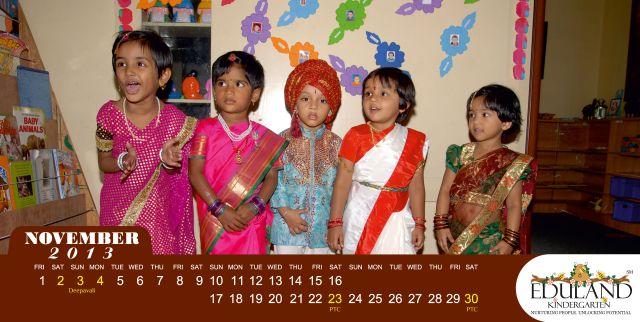 Eduland Kindergarten: November 2013