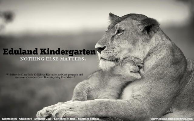 Eduland Kindergarten Nothing Else Matters