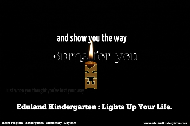 Eduland Kindergarten Lights Up Your Life
