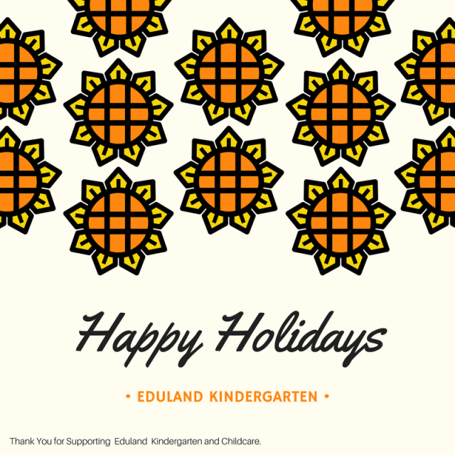 Happy Holidays_ Eduland Kindergarten Bangalore