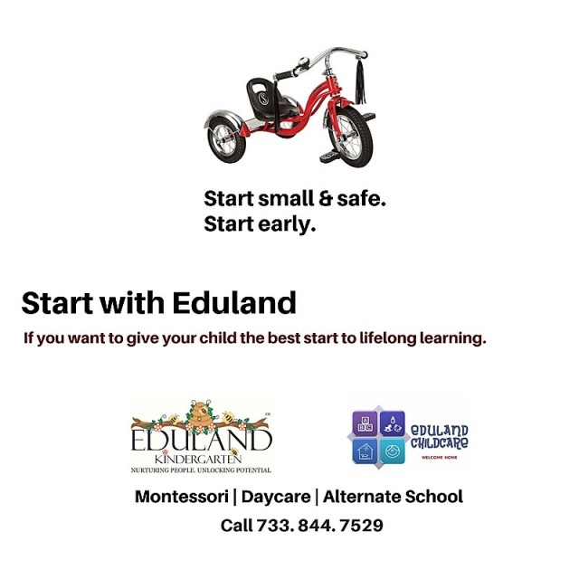Start small & safe.Start Early. Start with Eduland